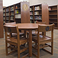 JSI Lincoln Library Table - Round