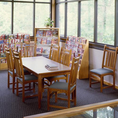 JSI Lincoln Library Table - Rectangular