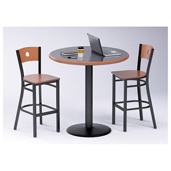 Russwood® Cafe Table & 2 Chairs