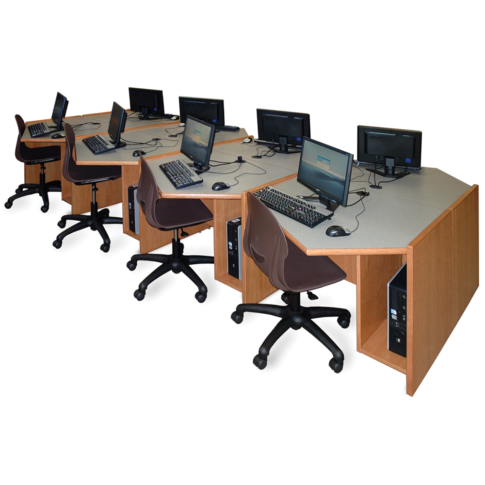 Russwood® Elite™ Angled Workstations