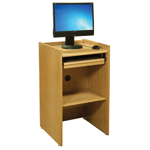 Russwood® Elite™ End-of-Range Monitor Stand