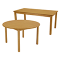 Allied Wood Library Tables