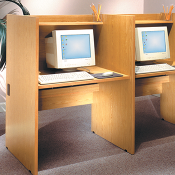 IRONWOOD Glacier™ Library Study Carrels