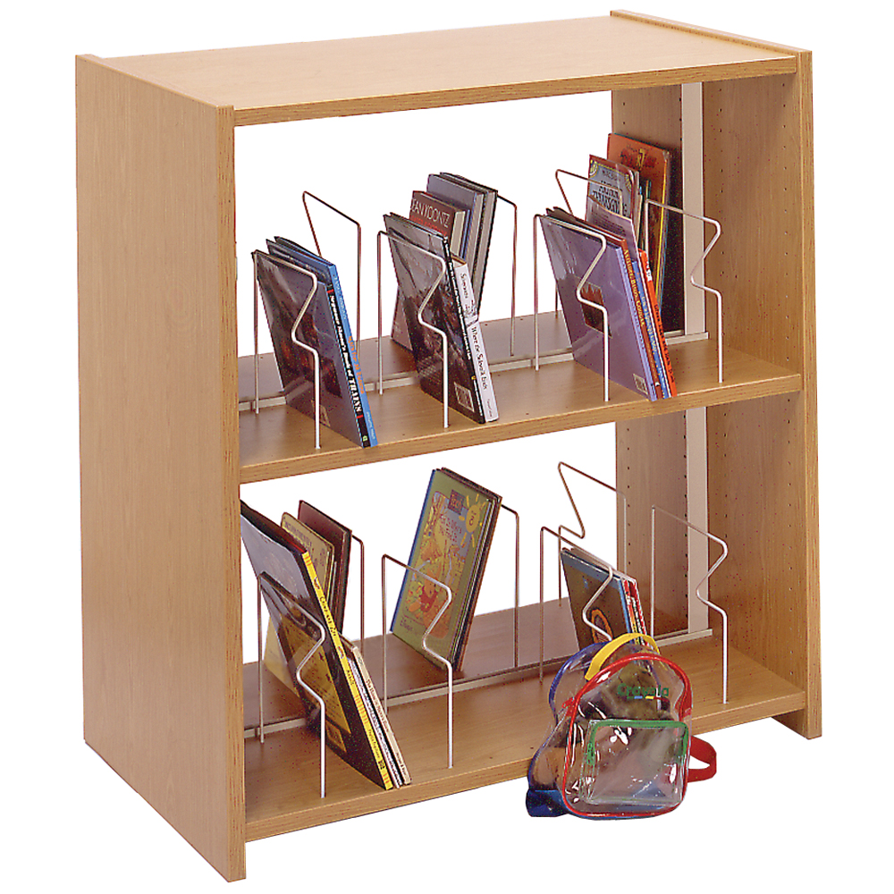 IRONWOOD Glacier™ Laminate Picture Book Shelving