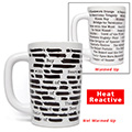 Banned Books Heat Reactive Coffee Mug