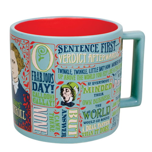 Lewis Carroll Literary Coffee Mug