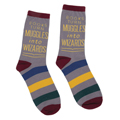 Books Turn Muggles Into Wizards SocksNew!