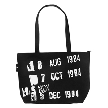Library Stamp Gusseted Canvas Tote BagNew!