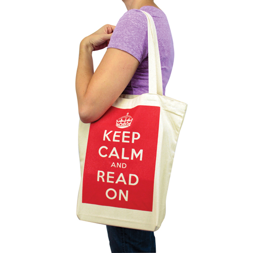 Read Gusseted Canvas Tote Bags