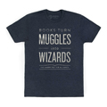 Books Turn Muggles Into Wizards Men's/Unisex T-ShirtNew!