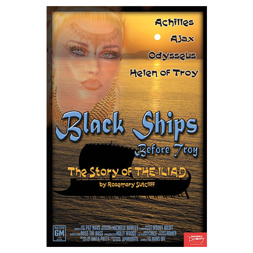Black Ships Before Troy Classic Works of Literature Laminated Poster - CLEARANCE Save 60%