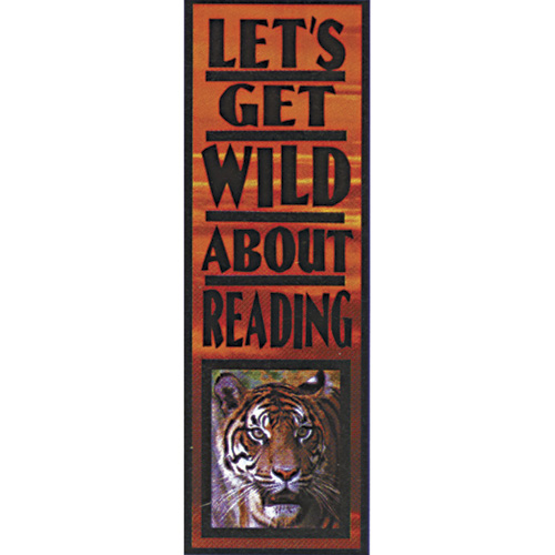 Let's Get Wild About Reading Bookmarks - 36/Pkg