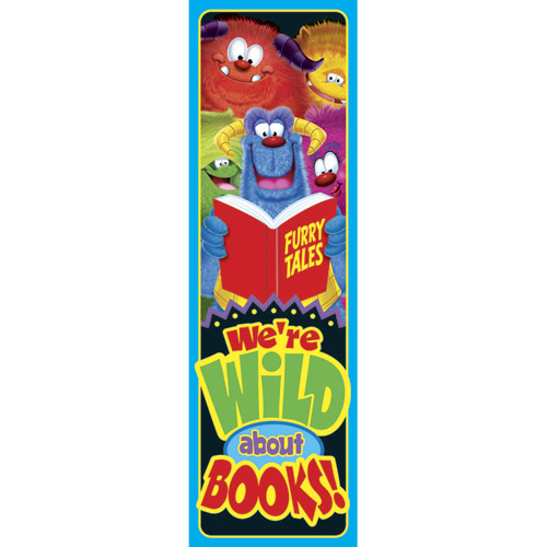 We're Wild About Books! Bookmarks - 36/Pkg