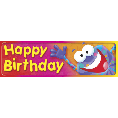 Frog-tastic! Happy Birthday Bookmarks - 36/Pkg