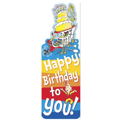 Dr. Seuss™ Happy Birthday to You! Bookmarks - 36/Pkg