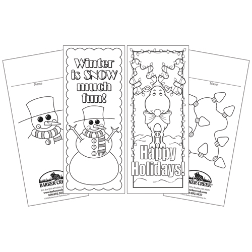 Celebrate Winter Duet Bookmarks - 60/Pkg