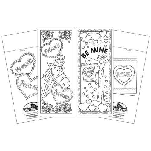 Celebrate Valentine's Day Duet Bookmarks - 60/Pkg