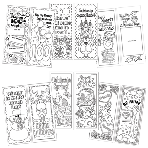 Celebrate the Year Bookmark Set - 360/Pkg