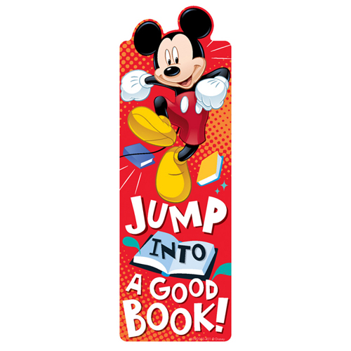 Mickey Mouse® Jump Into A Good Book! Bookmarks - 36/Pkg