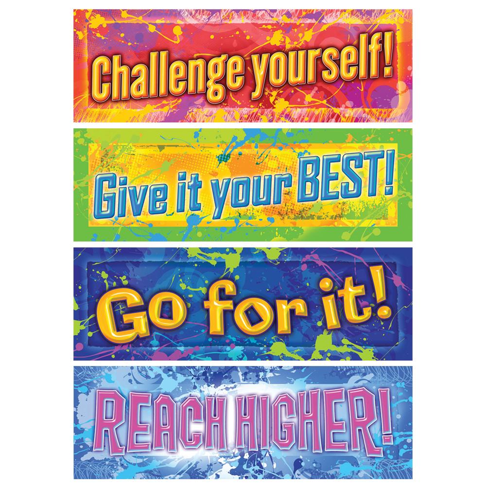 Positive Messages Bookmarks - 4 Designs - 36/Pkg