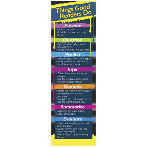 Things Good Readers Do Bookmarks - 30/Pkg