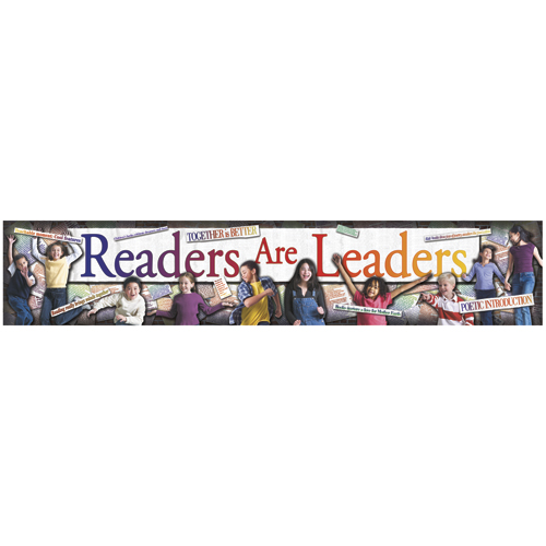 Readers Are Leaders Horizontal Banner