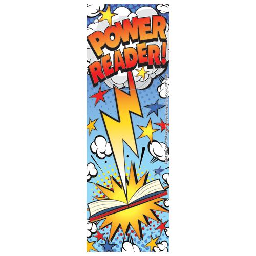 Power Reader! Bookmarks - 36/Pkg