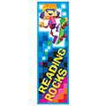 Blockstars Reading Rocks Bookmarks - 36/Pkg