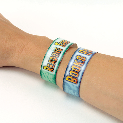 Reading Rewards Arm Bracelets - 72/Pkg