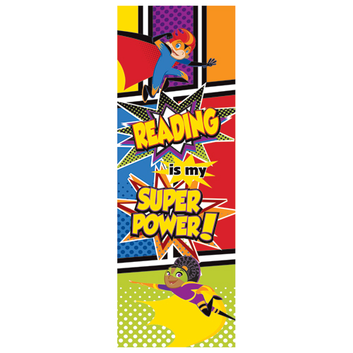 Reading is My Super Power! Bookmarks - 30/Pkg