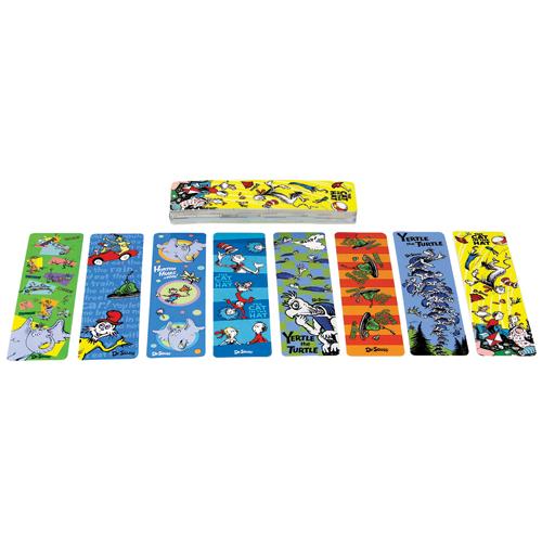 Dr. Seuss™ Assorted Character Bookmarks - 50/Pkg