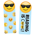 Emoji Reading is Cool Bookmarks - 30/Pkg