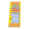 Dr. Seuss™ Horton Kindness Rules Bookmarks - 36/Pkg  New!