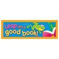 Leap into a Good Book! Bookmarks - 36/Pkg  New!