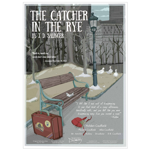 The Catcher in the Rye Marquee-Style Laminated Poster