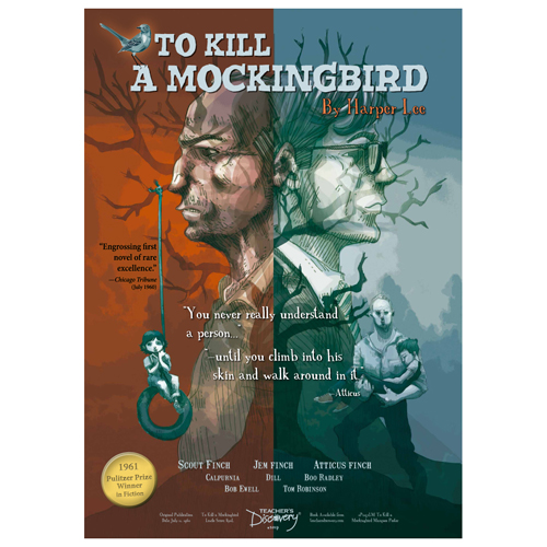 To Kill A Mockingbird Marquee-Style Laminated Poster