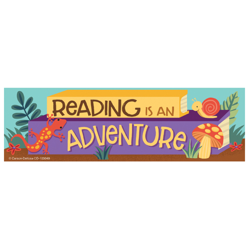 Nature Explorers Reading Is An Adventure Bookmarks - 30/PkgNew!