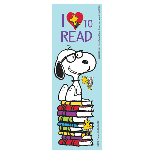Peanuts® Snoopy I Love To Read Bookmarks - 36/PkgNew!