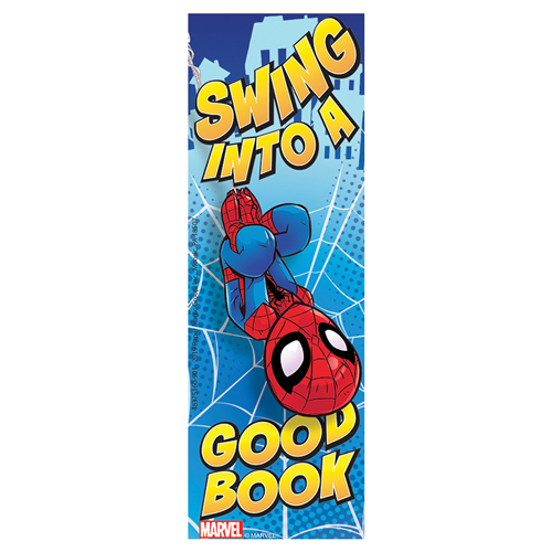 Marvel™ Spiderman Swing Into A Good Book Bookmarks - 36/Pkg