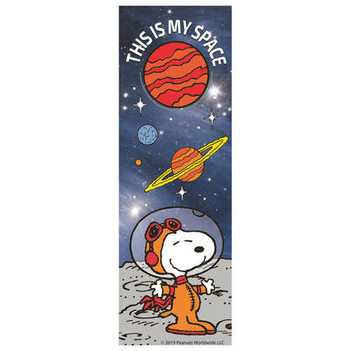 Peanuts® NASA Snoopy This Is My Space Bookmarks - 36/Pkg