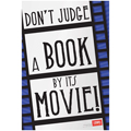 Don't Judge A Book By Its Movie! Poster