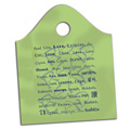 Read in 48 Languages Plastic Library Bags - 25/Pkg