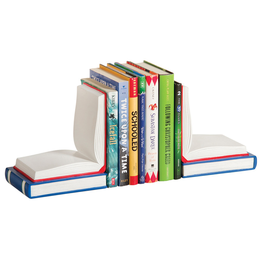 """""""Open Book"""" Bookends"""
