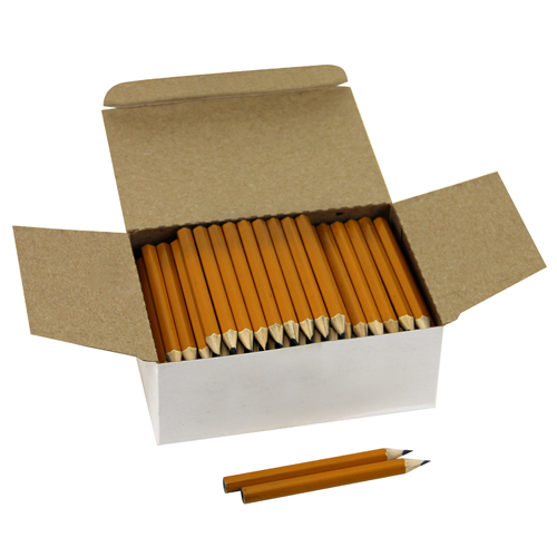 Disposable Library Pencils - Yellow - 144/Box