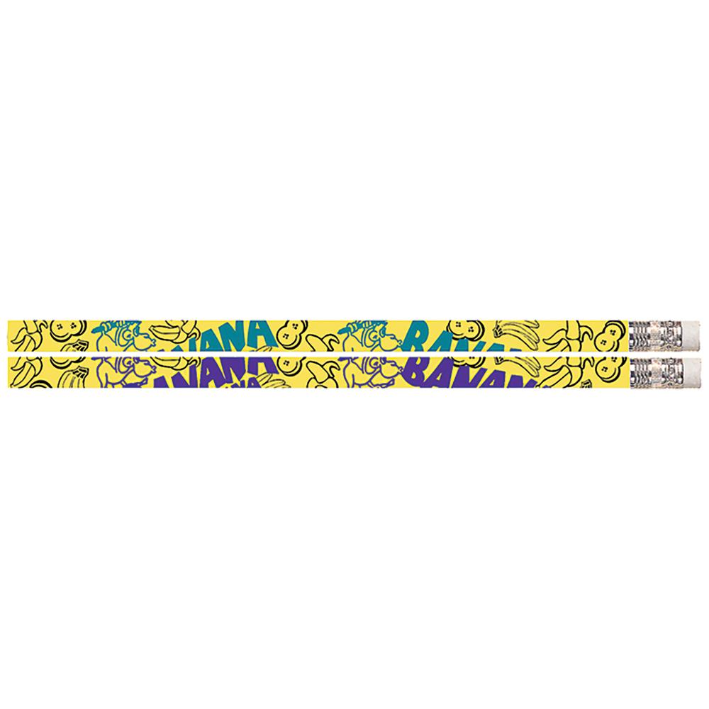 Banana Scented Pencils - 24/Pkg