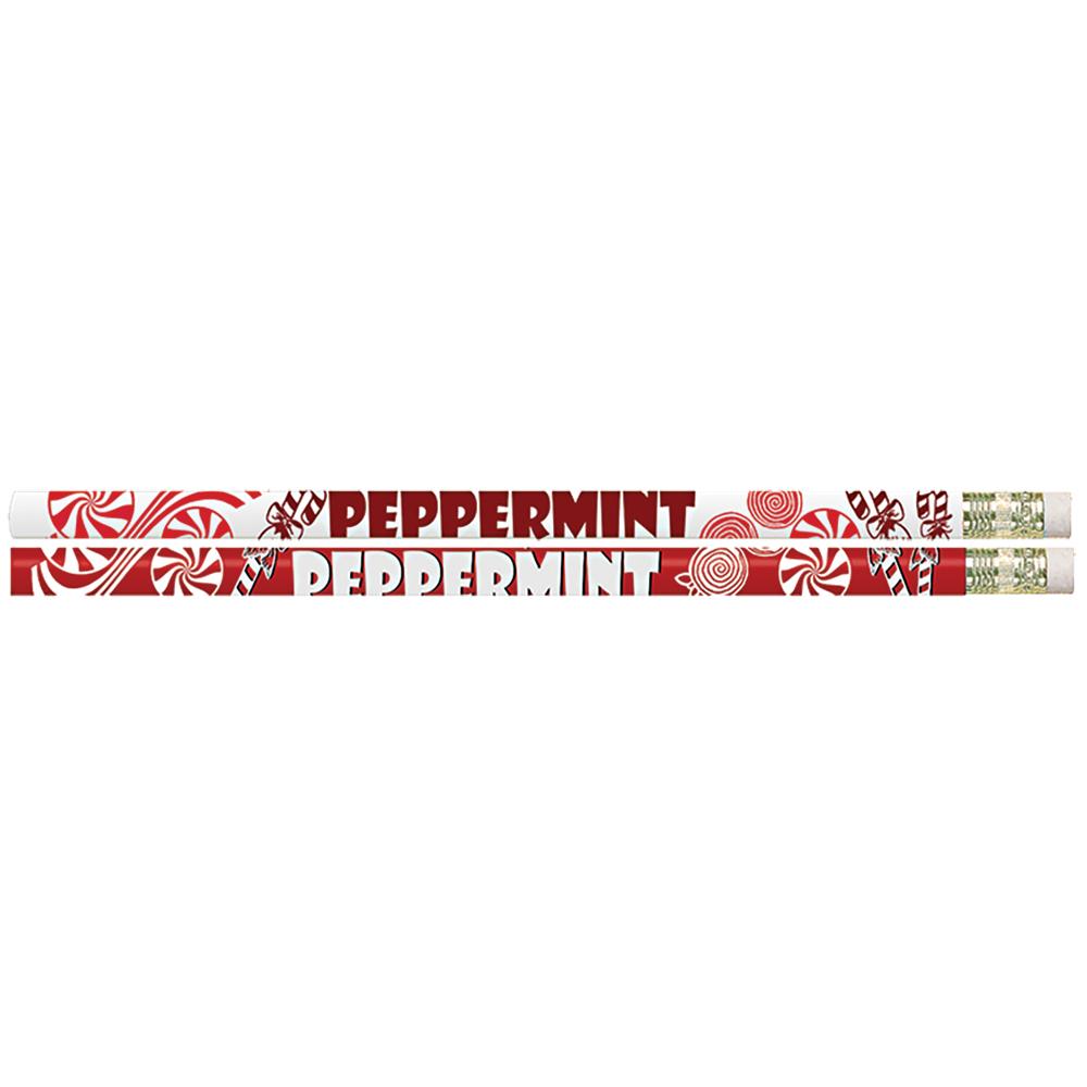 Peppermint Scented Pencils - 24/Pkg