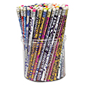 Pencil Assortment Tubs - 144/Pkg