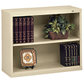 tennsco™ Welded Bookcase - 28H x 34-1/2W x 13-1/2D