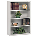 tennsco™ Welded Bookcase - 52H x 34-1/2W x 13-1/2D