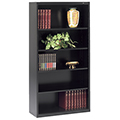 tennsco™ Welded Bookcase - 66H x 34-1/2W x 13-1/2D